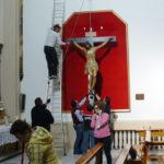 El Cristo del Silencio será trasladado en procesión este miércoles
