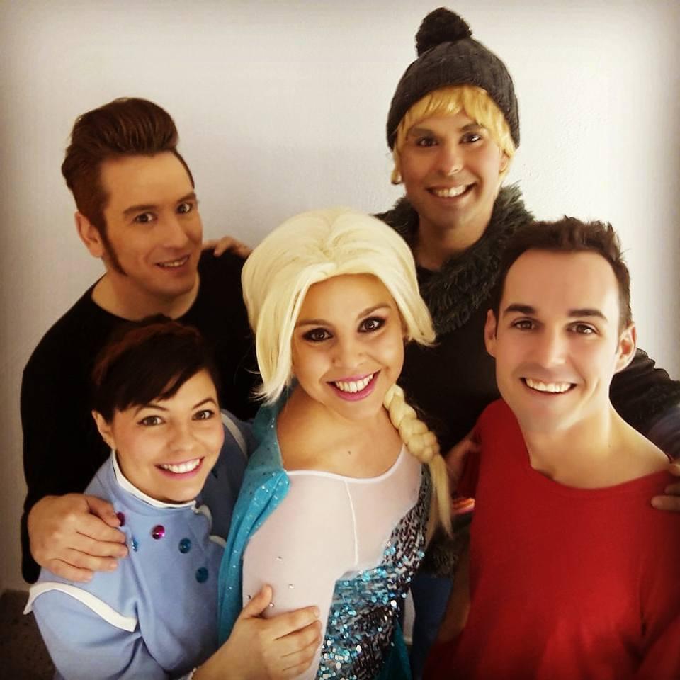 Marta Saorín será la voz de Elsa en el musical tributo a Frozen