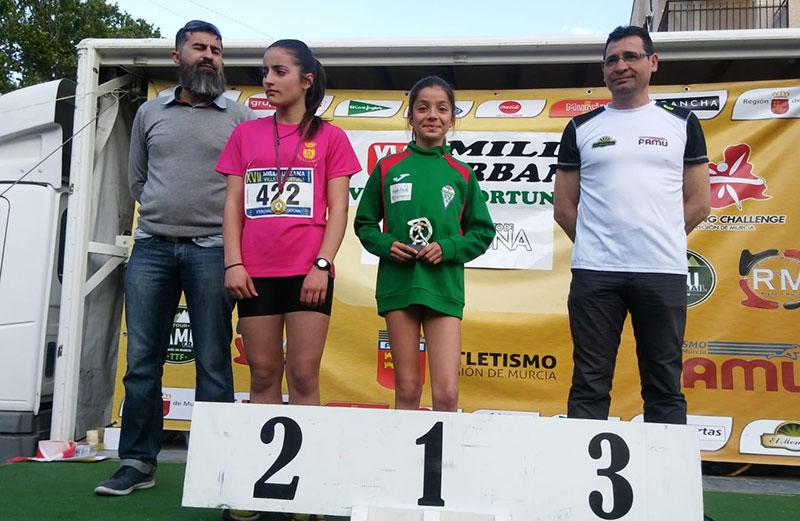 Rocio Morote (Club de Atletismo Hoya del Campo)