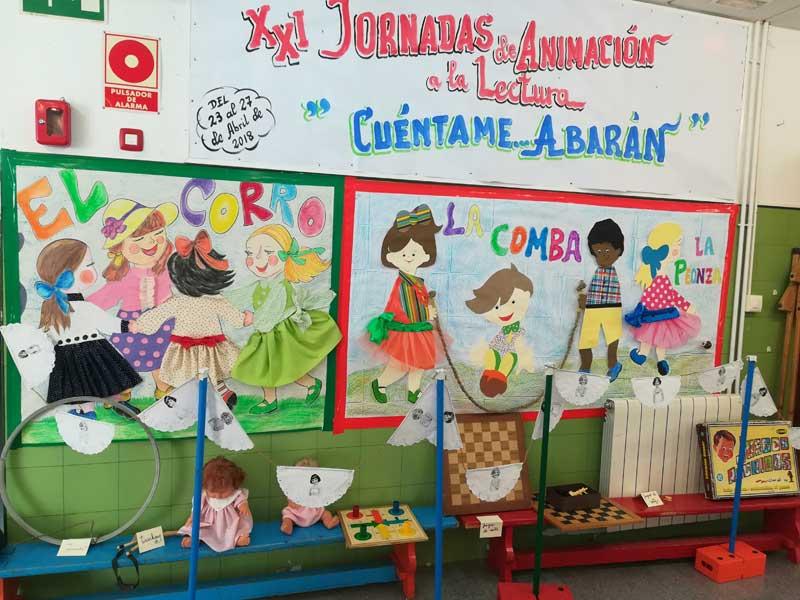 Jornadas de animación a la lectura colegio Juan XXIII