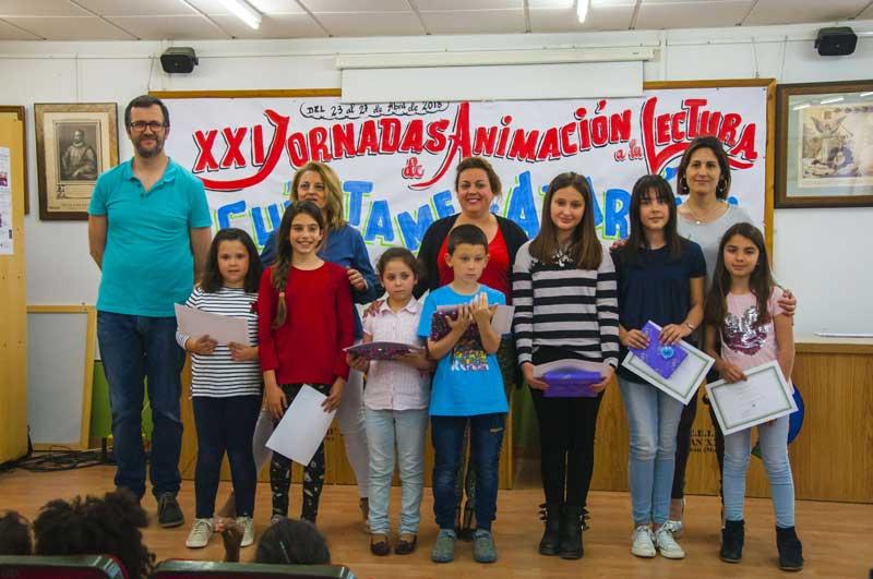 Ganadores del concurso de concurso de poesía, cuento, comic y slogan