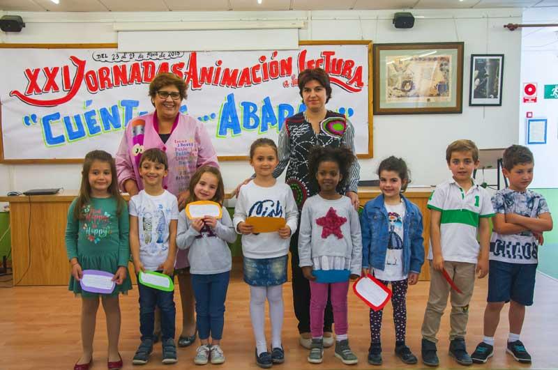 Alumnos de 5 años que narraron lo aprendido en esta semana