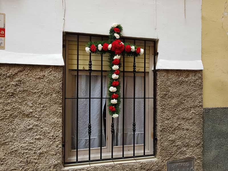 Otra de estas cruces se encontraba en la calle Victorio Yelo