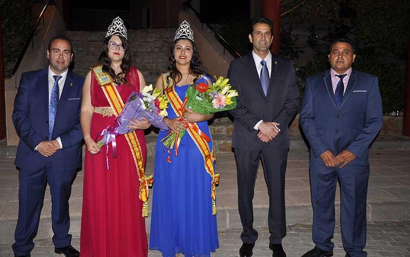 Coronación reinas de las fiestas barriada Virgen del Oro