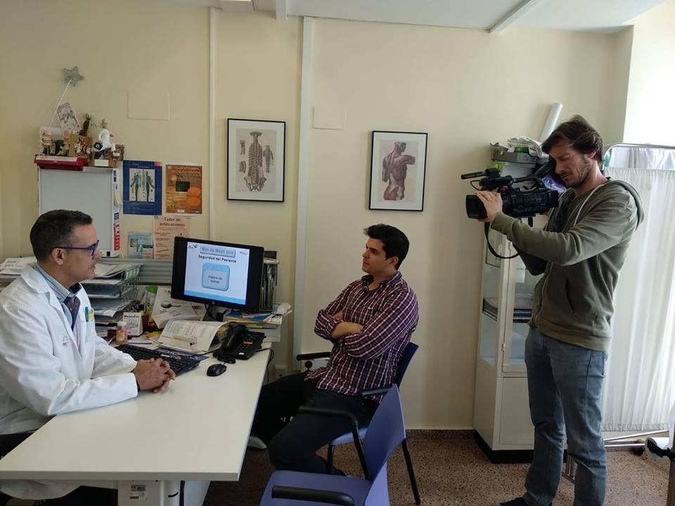 El Dr. Carmelo Tornero Ramos durante la entrevista realizada por Popular T.V.