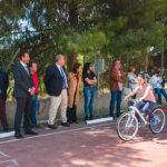 El Delegado del Gobierno asiste a las clases de educación vial en Abarán