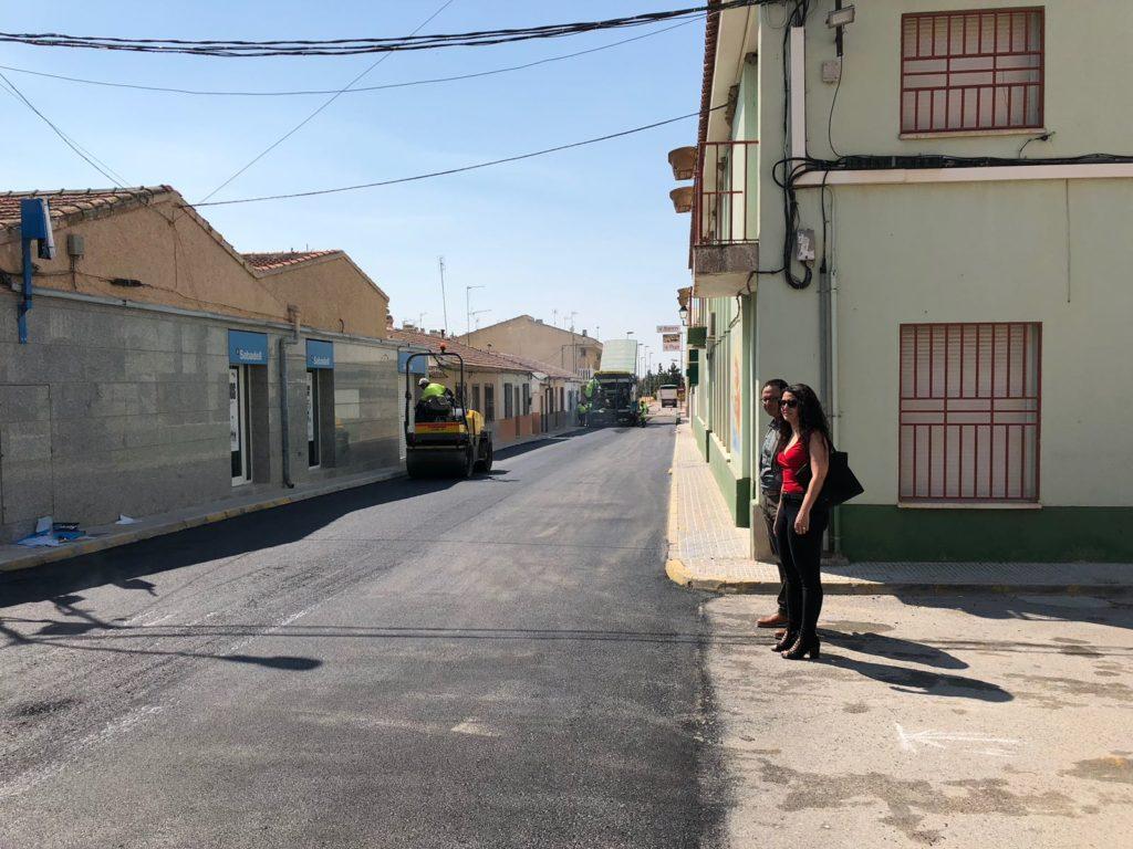 Asfaltado de la calle Menéndez Pidal (Ya finalizado)