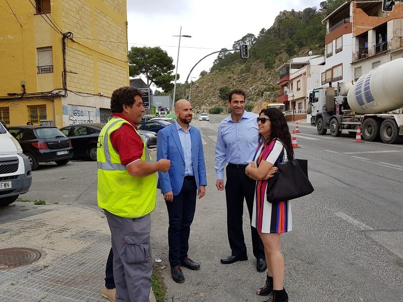 Visita del Director General de Carreteras