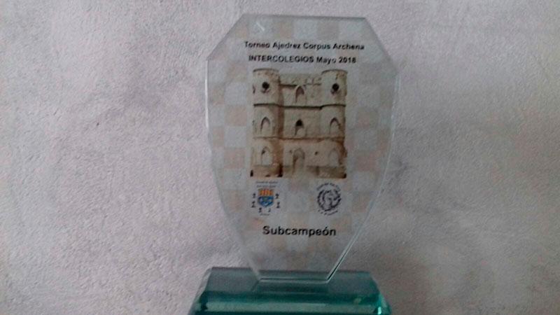 El equipo del IES Villa de Abarán, segundo clasificado en el Torneo Intercolegios Fiestas del Corpus 2018 celebrado en Archena