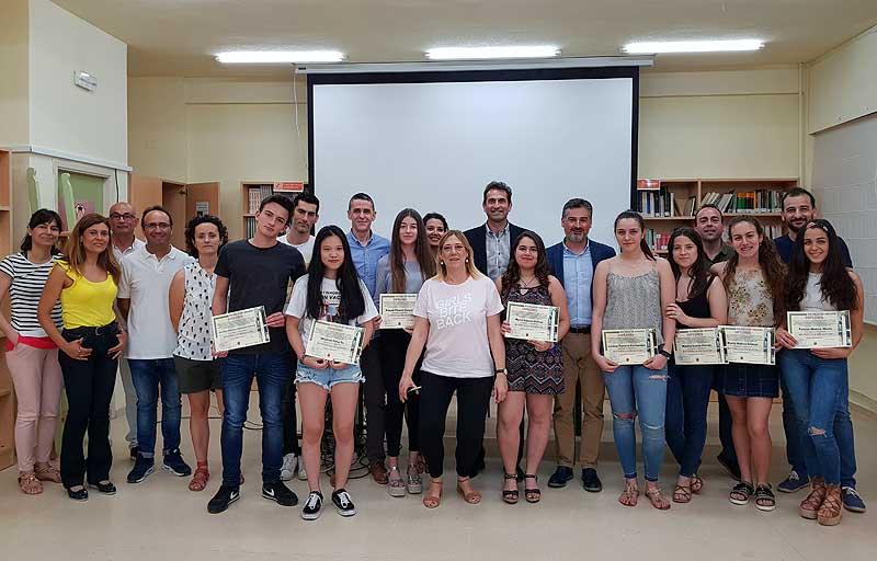 Entrega diplomas matrículas de honor
