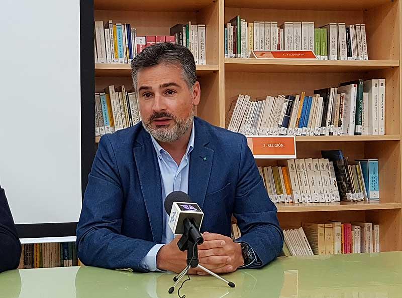El director general de Formación Profesional, durante su intervención.