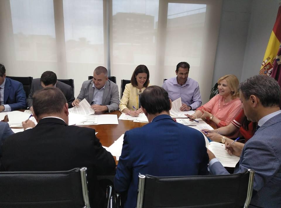 Firma Convenio Iguladad de oportunidades