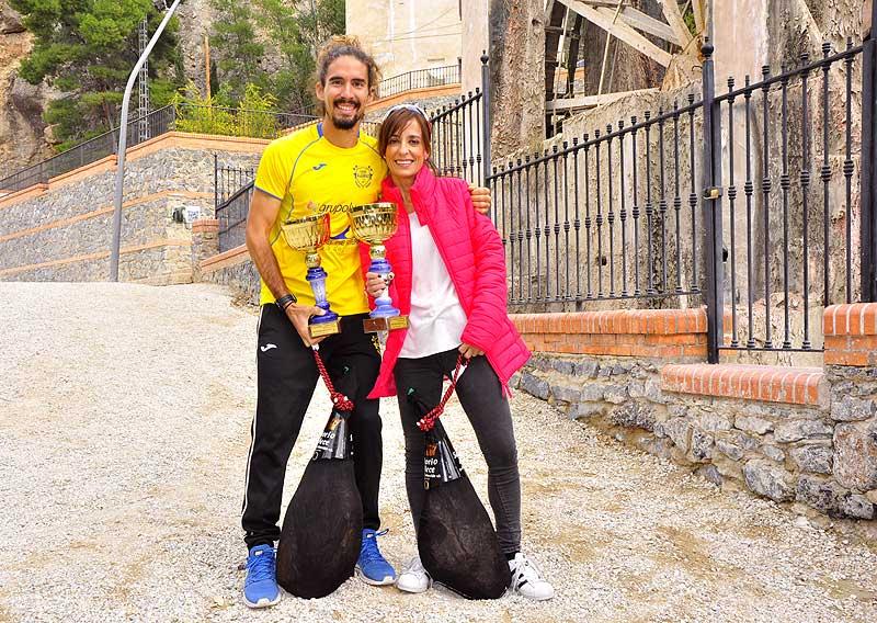 Héctor Varona Cantabrana y Mar Gómez Nicolás, ganadores de la prueba absoluta