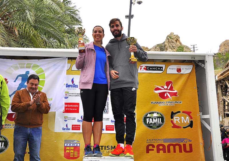 Lorena Melgarejo Villegas y Mario Carrillo Saorín fueron los corredores locales más rápidos.