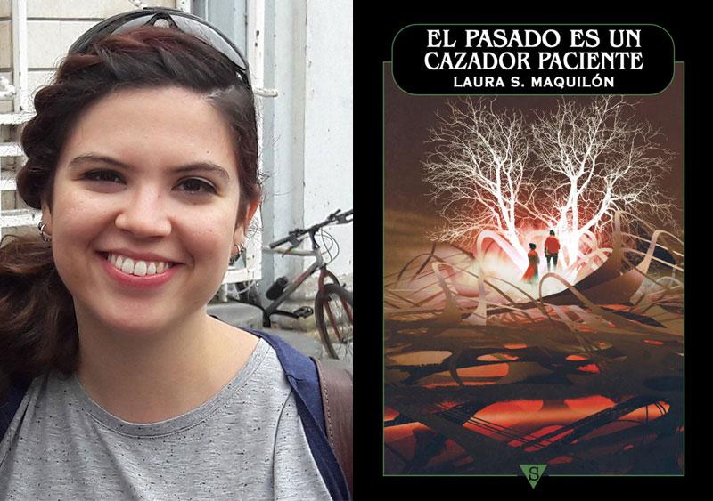 La joven abaranera Laura Soriano Maquilón presenta esta tarde su primera novela 'El pasado es un cazador paciente'