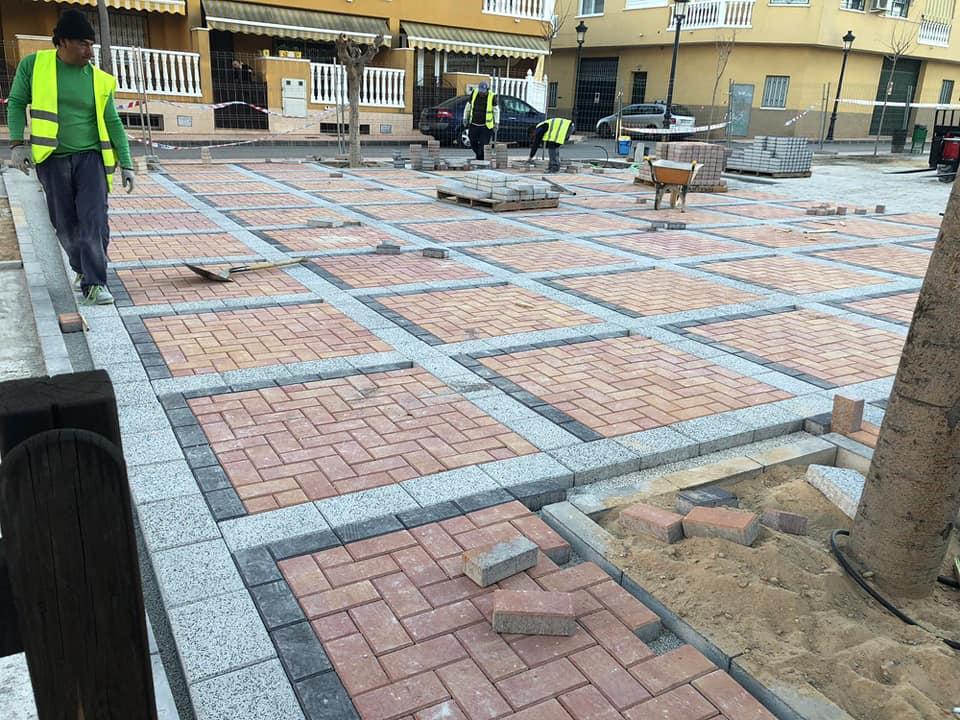 Avanza a buen ritmo la obra de remodelación del jardín de San José Artesano