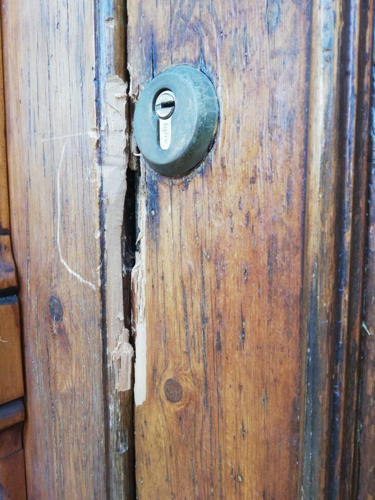 Rompen la cerradura de la Iglesia de la Ermita