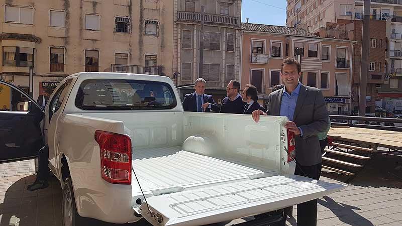 Nuevo vehículo para concejalía de Parques y Jardines