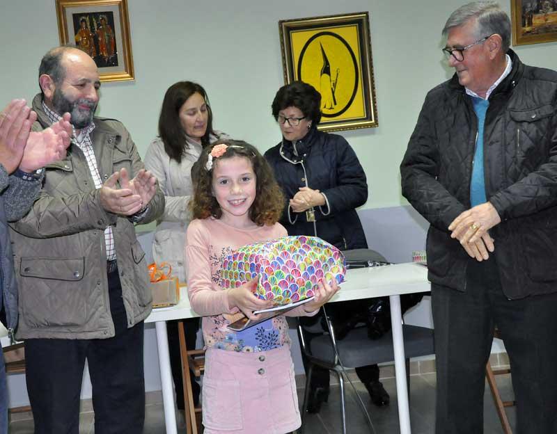 Evelyn María, del colegio Virgen del Oro, fue la ganadora absoluta del concurso en el apartado de Redacción.